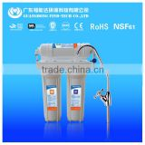 Without pump under sink 3 stage drinking easy water filter machine with Goose-Neck Drinking Faucet