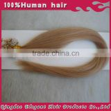 "Top Quality 18""Silky Straight Natural Hair Micro Ring Hair Extension 100% Human Hair Extension"