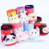 lovely Plush pen container /Cartoon brush pot animals/valentine's plush couple gifts