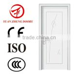new design white house wooden door interior pvc door                                                                         Quality Choice