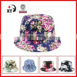 Adults printed bucket cap and hat