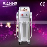 Beard 2014 Portable SHR Elight Hair Removal Abdomen Ipl&rf Beauty Salon Machine/shr Diode Laser Ipl