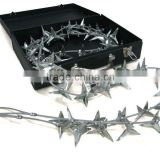 10 m simple manganese alloy road spikes for army