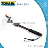 Top-Brand Bluetooth selfie stick for Smartphones With built-in Bluetooth remote control & great battery