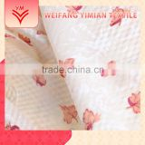 Trade Assurance Seersucker Polyester Cotton Printed Satin Fabric