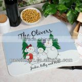 Christmas Glass Cutting Board Celebration Season