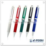Office stationery carbon fiber racing car business advertising gift pen set