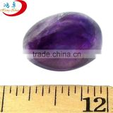 Massage Natural amethyst craved egg stone