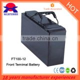Front Terminal battery 12v100ah supplier in guangzhou                                                                                                         Supplier's Choice