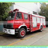 Bottom price dong feng fire fighting truck, fire water pump specification, fuel truck specification