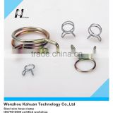 Double / single steel wire hose clamp