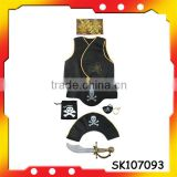 2014 skeleton pirate set pirate sword for Halloween