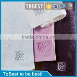 Brand new 100% cotton hotel hand towel / face towel / whosale bath/towel