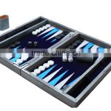 Wooden Chess Backgammon Checker Game Set