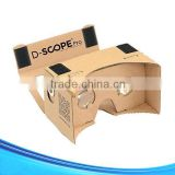 DIY 3D virtual reality glasses Google Cardboard V2 with custom logo print