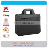 14'' cross section laptop briefcase canvas business package