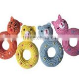 Colorful Pet Crochet Toy(Animal Donut)