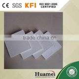 pvc laminated gypsum plaster tiles size 595*595*7mm