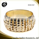 Gold bangles for 2015 hot selling sex bangle plated in gold to buy wholesale jewelry manufactured in Yiwu China
