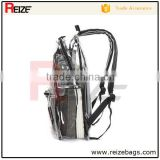 New fashion qualitied waterproof clear Transparent backpack name brand school bag china                                                                         Quality Choice