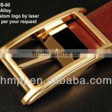 latest style fashion brass buckle for belt
