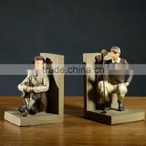 Modern minimalist golf bookends high-end home decoration table ornaments