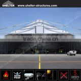 Customized aircraft hangar tent supplied by China factory for Helicopter & Aeroplanes