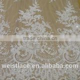 lace with sequin and bead decorate/lace fabrics/african style lace