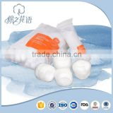 Super absorbent wound dressing with CE TUV cotton wool ball