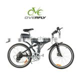 6061 Aluminum Alloy Frame 36V Lithium battery folding electric bicycle XY-EB005F