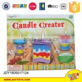 wholesale candle toy colorful sand art with all certiicate promotive gift