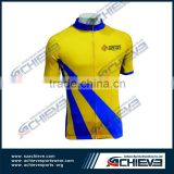 2015 oem Customized biker racing suit sublimation cycling shirts biker vest