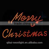 Christmas neon sign merry Christmas neon light customer design sign christmas words hang tag