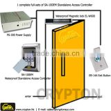 A complete kits of RFID & Card access control