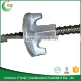 formwork ball screw tie rod and wing nut