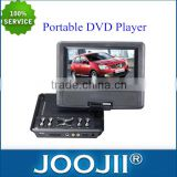 Best Price 7-16 Inch TFT LCD Screen Portable DVD/VCD/CD Player With Game And FM Radio/USB/SD