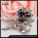 Buy pearls jewelry in china freshwater pearl brooch