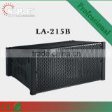 SPE Audio, Line array speaker, LA-215B 1000W dual 15 inch subwoofer 4 Ohm, power speaker subwoofer