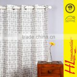 HLHT BSCI certification printed curtain for arch windows home textile                                                                         Quality Choice