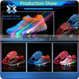 Wholesale LED light up shoes for kids children, child kids LED lighting sneaker, LED luminous light for kids LED shoes