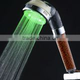 LED Rainbow Flow Filter Shower Head-High Pressure Massage Hand Held Rainfall Showerhead LED Colors Fading Shower Head