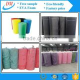 factory price fresh colorful protective material eva foam school arts roll EVA insole sheet