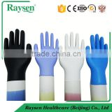 Disposable working blue black nitrile gloves&medical nitrile gloves&powder free nitrile gloves