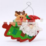 Latest Arrival custom design Cheap new snowman Christmas ornaments letters from manufacturer
