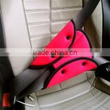 High quality Child Safety Cover Harness Strap / kids Car Adjuster Pad / Kids Seat Belt Seatbelt Clip