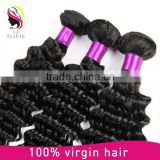 Wholesale Top Quality Bulk Raw Virgin Unprocessed Remy 100% Peruvian Brazilian Indian virgin remy human hair