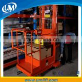 Chinese Manufacturer Good Workers Personal Hydraulic Small Electric Ladder Lift For Loading 200kg