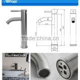 ss304 high quality bathroom sinks with two faucets