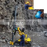 China supplier atlas Copco hydraulic drilling rig AirROC D45 D50 dth man portable drilling rig for sale
