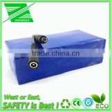 battery 24v 20ah silverfish case Li-Ion 18650 cell deep cycle 24v lithium battery for electric bike
